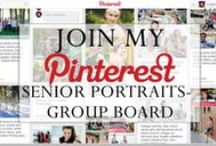 Senior Portraits- GROUP BOARD / This board is for professional senior photographers who would like to share their work. See the guidelines and read how to join here: http://criativophoto.com/join-pinterest-senior-portraits-group-board/
