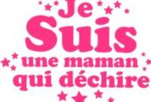 Moi... Maman / mes enfants, ma vie <3  / by Delphine Carroy