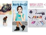 Blog Post: Wish list