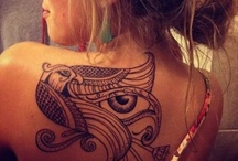 Egyptian Ink / The ancient Egypt motif is becoming quite popular in the tattooing arts. But there's so much more to it than just getting the Eye of Horus, or a Cartouche with your name. You can really get creative!