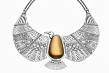 Azza Fahmy, Pharaonic Collection / Azza Fahmy is Egypt's leading jewelry designer who takes her inspiration from her country's history and culture. She is truly a rising star.