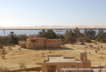 Desert Oasis / The Siwa Oasis is one of Egypt's hidden gems. It's surrounded by the Great Sand Sea, has ancient Egyptian, Greek and Roman artifacts, fresh and salt water lakes, hot and cold springs, and its natives are friendly and warm.