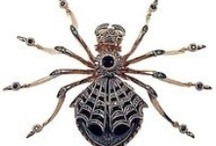 Jewelry Bugs   / Beetles, butterflies, insects, spiders  / by Rachel Gray