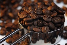 """Coffee Beans / """"Death before decaf!""""  / by Rachel Gray"""
