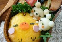 Food: Bento Box And School Lunches! / Bento recipes and ideas  / by Winnie C