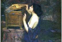 ART: Pre-Raphaelites / Sir John Everett Millais has a separate board, as I think his art merits it. / by Rachel Gray