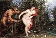 ART: Classical Themes / Mostly Greco-Roman Myths in European art... / by Rachel Gray