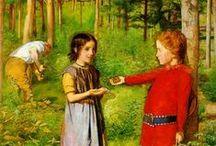 ART: Millais, Sir John Everett / My favorite artist from the Pre-Raphaelite era... / by Rachel Gray
