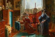 ART: Studio & Atelier / Where the work of art gets done... / by Rachel Gray