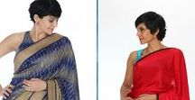 Mandira Bedi Sarees at ShopBollyWear / Presenting at ShopBollyWear Mandira Bedi Designs Saree Collection