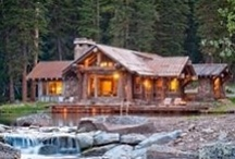 Log Cabin ♥ / I ♥love♥ log cabins!