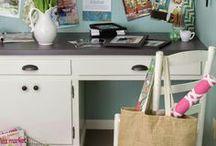 Art & Craft Studio | Storage & Organisation / Fantastic storage ideas for your craft room or art studio