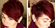Short Hair Don't Care! / hair styles &colors that I like
