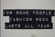 Fashion Quotes/Sayings