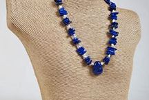 EarthWhorls Necklaces / All EarthWhorls necklaces are made using the finest gem stones and silver.