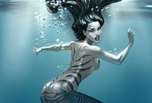 Mermaids / Inspirational mermaid images for reference when creating art
