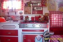 Camper Interior Decor ♥ / Camper interior decor by women!
