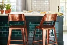The Unique Kitchen / Kitchen's can have style and flare! These home goods are sure to make your time spent whipping up meals enjoyable. Browse these home goods for a cute, practical kitchen!