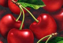 ♥Cherries♥ for my Life's Bowl / Life really IS a bowl of cherries!