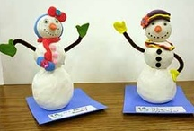 Art of Winter Wonderland / Art projects that are fun to celebrate the season of Winter.