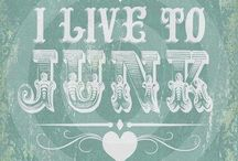 LOVE TO JUNK ❤️ / All about thrift, flea market and just junk / by Lori Coil Gulley