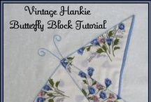 Hankie Quilts / Hankie & Handkerchief Quilt Ideas.