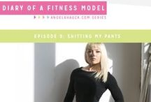 """Diary of a Fitness Model / """"Diary of a Fitness Model"""" is an uncensored blog series about my experiences as a fitness model. Fans can expect an honest glimpse into my mental and physical journey towards achieving my dreams. Catch the series live at: www.angelahauck.com / by Angela Hauck"""