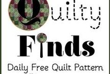 Quilty Finds / The Daily Free Quilt Pattern Finds from Quilty Finds http://www.quiltyfinds.com/ / by Victoriana Quilt Designs