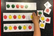 Patterns / Pattern activities, ideas and printables for your preschool or kindergarten math centers.