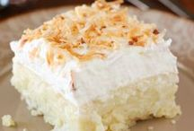 Coconut desserts / Everything coconut