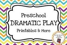 Preschool Dramatic Play / Expand dramatic play and dress-up in your preschool or homeschool classroom with these themed printables, activities and ideas.