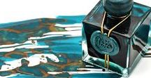 Fountain Pens & Ink / Gorgeous fountain pens and inks.