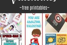Valentines Free Printables / Affordable ways to show them you care.  Valentines for kids and family, craft ideas, budget gift ideas and more to love