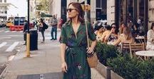 The Way I Dress - Our Best Dresses / Dresses, dresses, dresses. We just can't get enough of them. This series highlights some of our most fashionable influencers. We find out some of their tips for outfitting a handful of their favorite fall pieces. Find your latest inspiration!