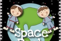 Space: Planets and stars, going to space for Kids / Space craft and printable activities for kids