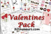 Valentines Activities for Kids / by Cassie Osborne (3Dinosaurs.com)
