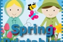 Spring Activities for Kids / by Cassie Osborne (3Dinosaurs.com)