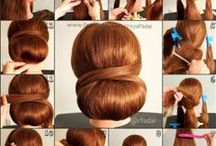 Hairstyles / The best tutorials, videos, and how to's, to get the cutest hair dos