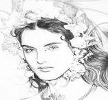 Ëlodie | Original Drawings and Sketches
