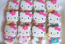 Hello Kitty Party Ideas / Great ideas for party cakes, decorations, printables,  food and more!
