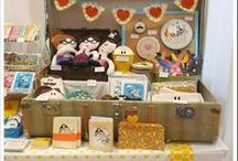 Market Ideas / Inspiration for market display ideas and setup. Also things I can make to sell at markets.