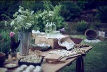 wedding food and drink / A manger et à boire pour un mariage