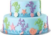 Mermaid Party Ideas / Great ideas for party cakes, decorations, printables,  food and more!