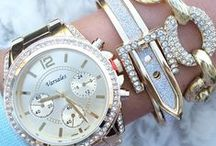 'hands of time' / beautiful watches, and bracelets to match:)