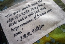 All things Tolkien / Because Tolkien was epic. Admit it / by Teresa DeLallo