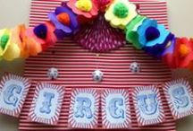 Circus or Carnival Party Ideas / Great ideas for cricus party cakes, decorations, printables,  food and more!