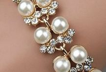 Beautiful Pearl Jewelry / Pearl gems are probably the most loved gems of all time. Seductive strands, warm to the touch. Pearls are simply & purely organic.