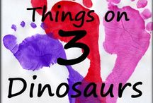 3 Dinosaurs Blog / This is all the blog posts from 3Dinosaurs.com. You will find free printables, hands on learning, gross motor and more. / by Cassie Osborne (3Dinosaurs.com)
