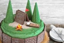 Camping Party Ideas / Great ideas for camping party cakes, decorations, printables,  food and more!