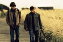 Saving people, hunting things, the family business / I love Dean and Sam and Bobby, and Benny. I think John Winchester AMAZING. And I  REALLY HATE CAS. (Gadreel for the win) / by Teresa DeLallo
